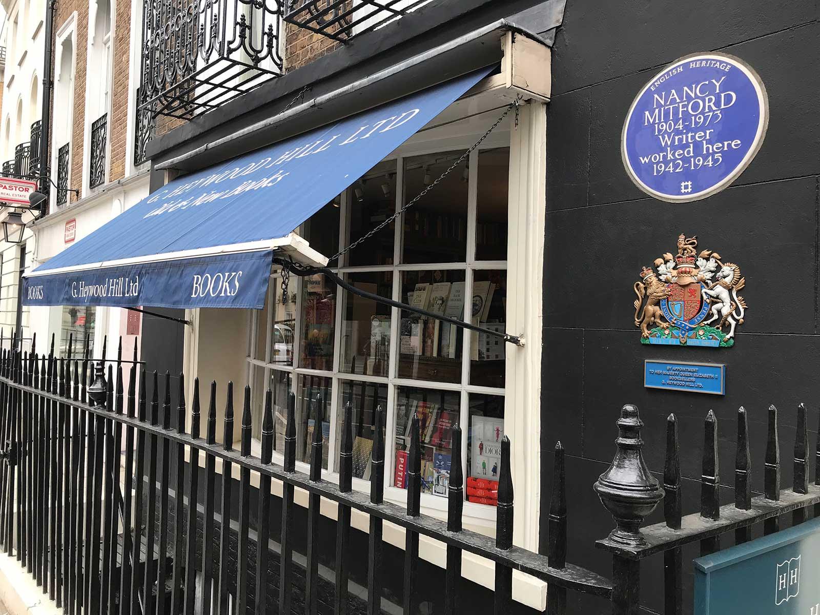 Heywood Hill Bookshop