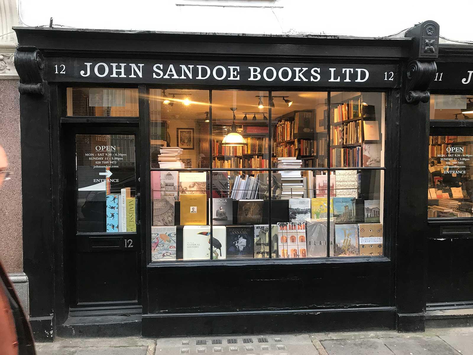 John Sandoe Books Ltd